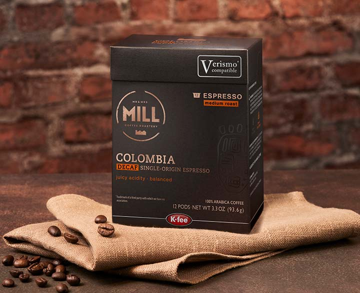 Mr & Mrs Mill Colombia Decaf Espresso