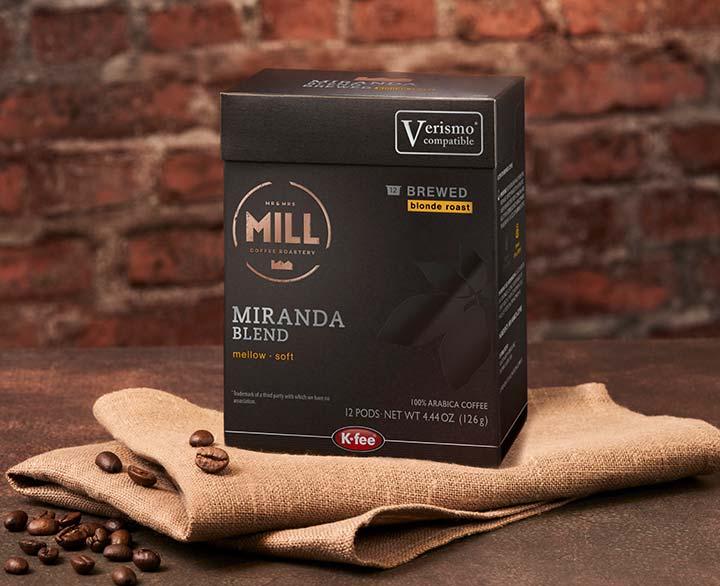 Mr & Mrs Mill Miranda Blend, Brewed