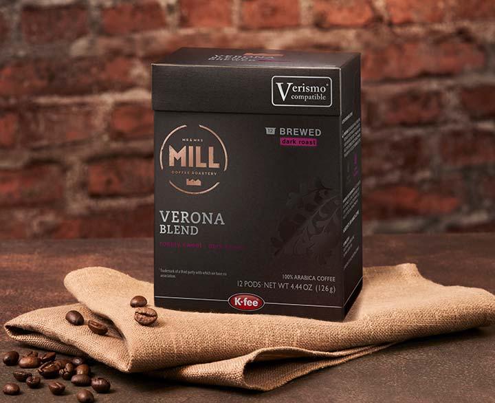 Mr & Mrs Mill Verona Blend, Brewed